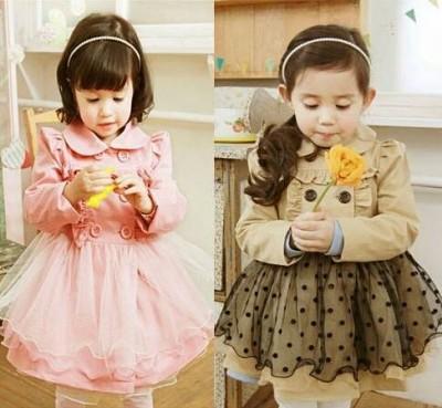 pakaian anak import Casual Dress