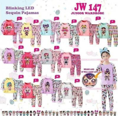 pakaian anak import Pajamas