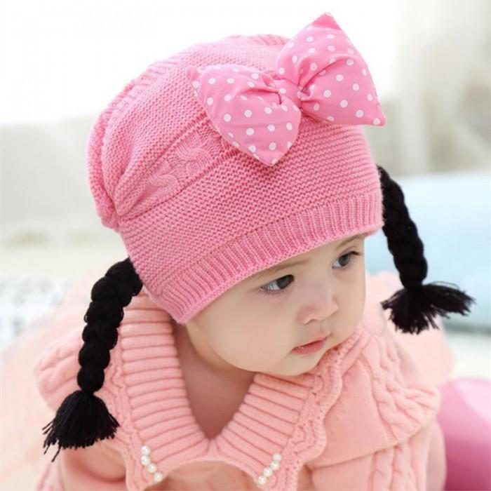 pakaian anak import BEANIE GIRL BALON PITA