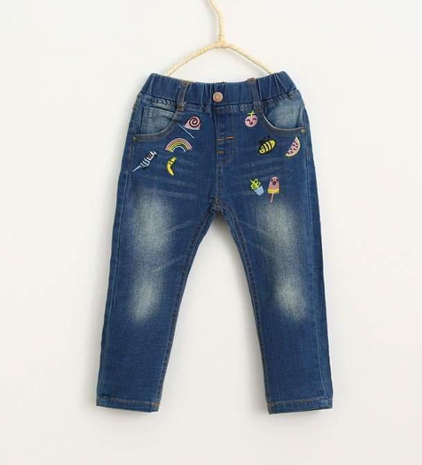 pakaian anak import CELANA JEANS 2180
