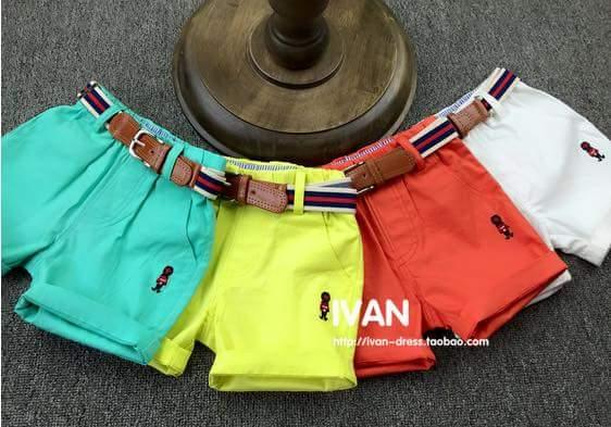 pakaian anak import CELANA PENDEK PRAJURIT