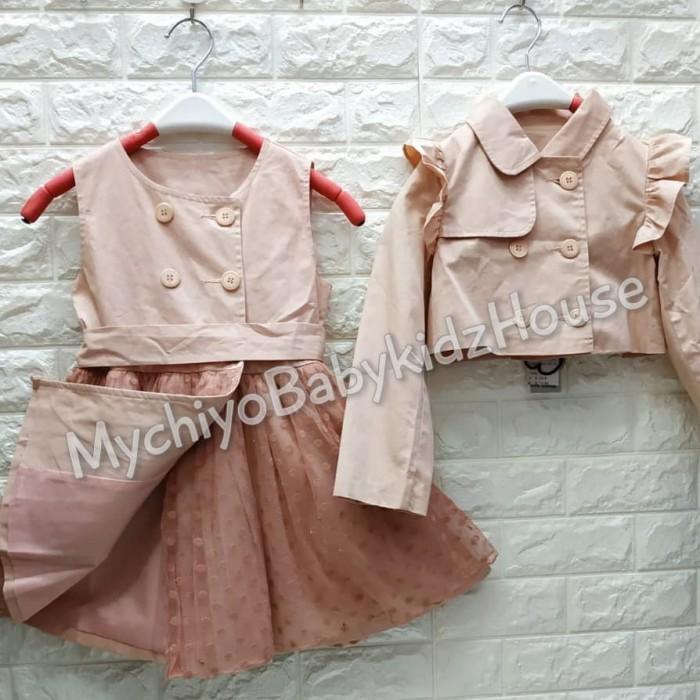 pakaian anak import DRESS ANNICA AN02