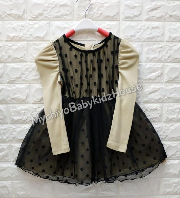 pakaian anak import DRESS ANNICA AN03