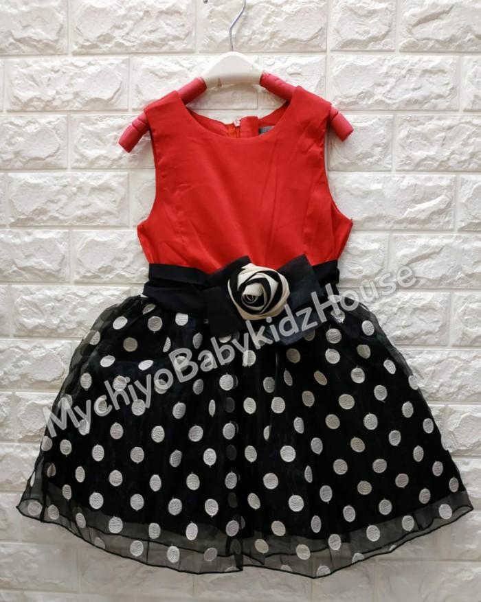 pakaian anak import DRESS ANNICA AN04