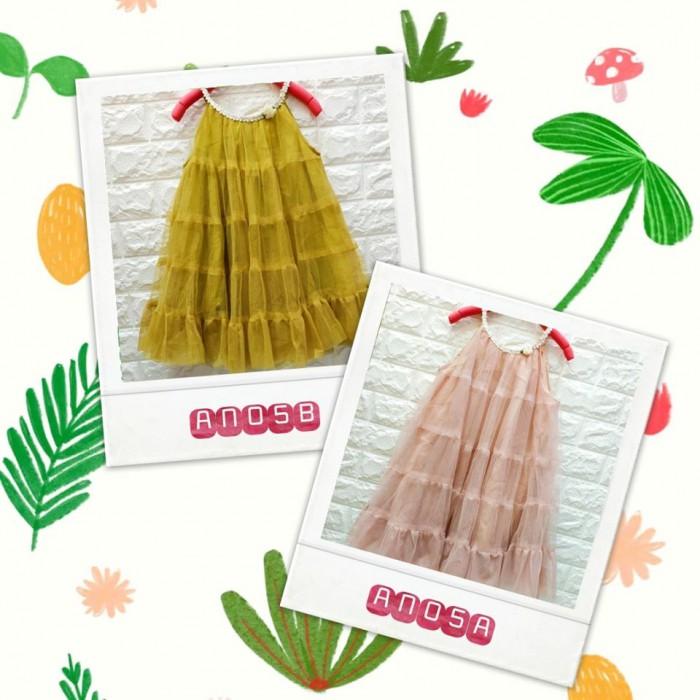pakaian anak import DRESS ANNICA AN05