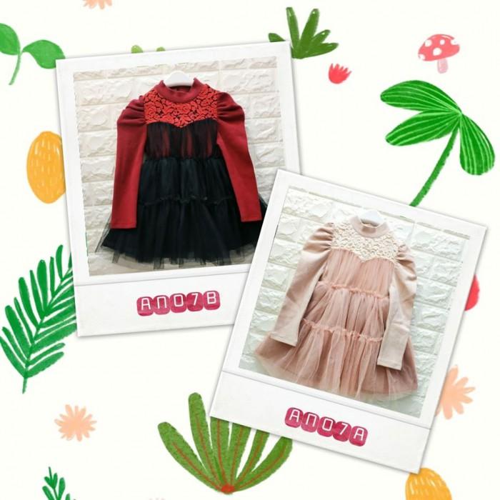 pakaian anak import DRESS ANNICA AN07
