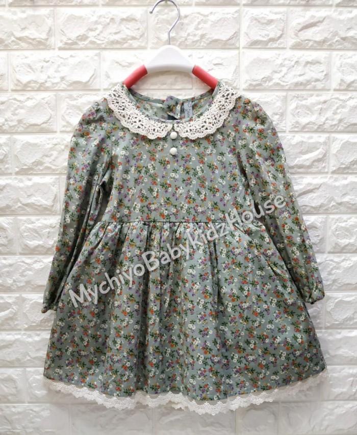 pakaian anak import DRESS ANNICA AN13