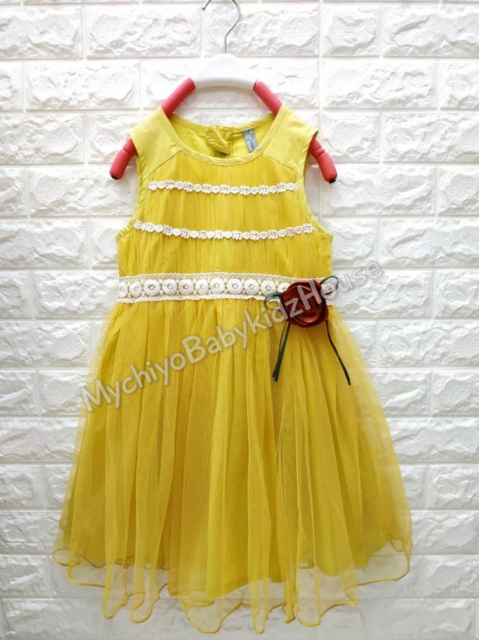 pakaian anak import DRESS ANNICA AN20