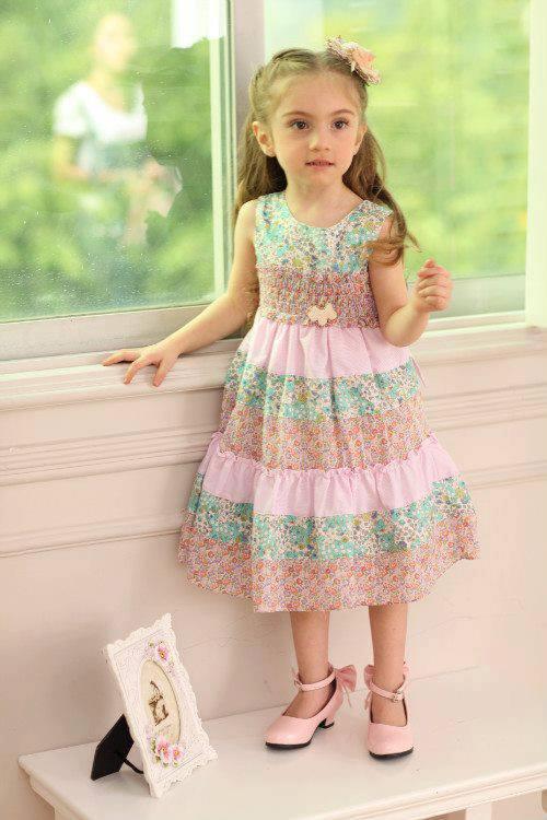 pakaian anak import DRESS CASUAL 1437