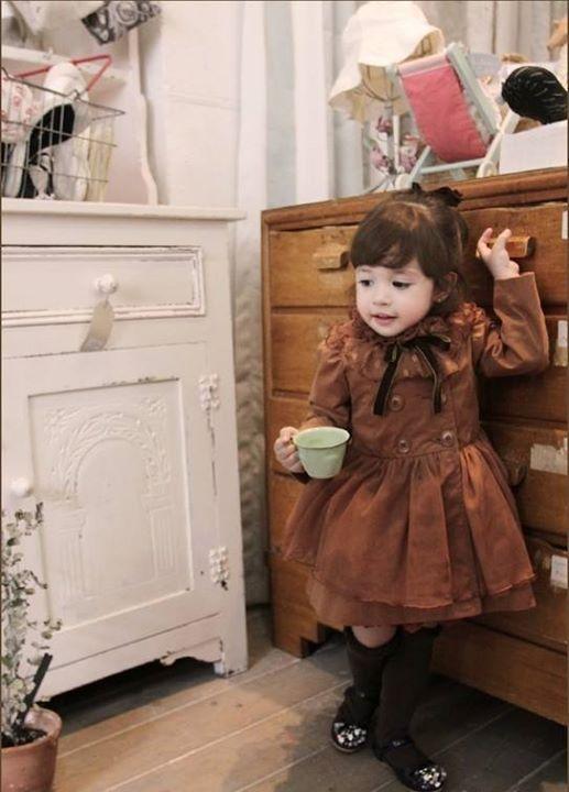 pakaian anak import DRESS CASUAL 1593