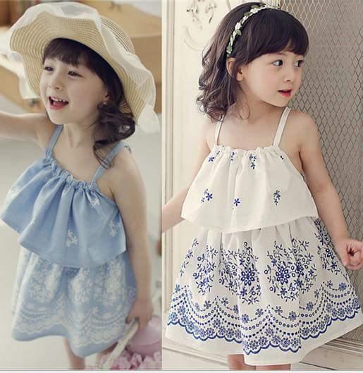pakaian anak import DRESS CASUAL 2144