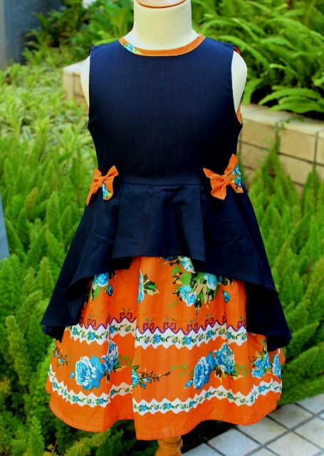 pakaian anak import DRESS CASUAL 990