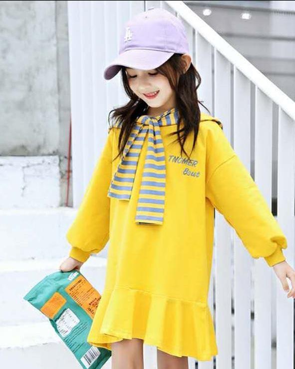 pakaian anak import DRESS EXCLUSIVE 2607