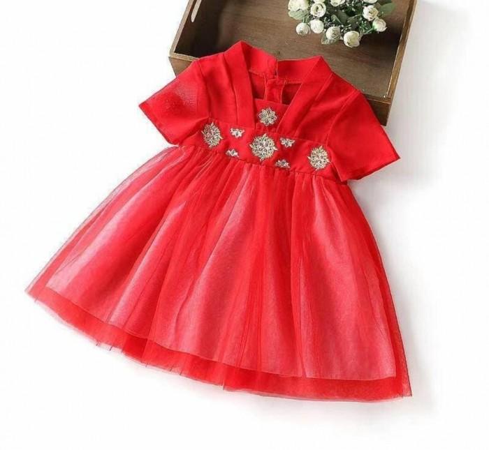 pakaian anak import DRESS EXCLUSIVE 6802