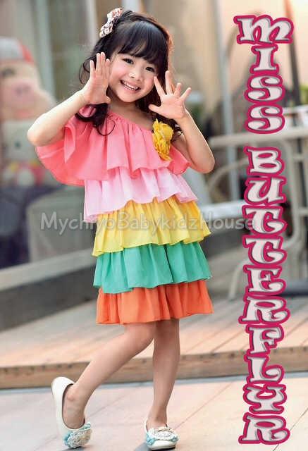 pakaian anak import DRESS EXCLUSIVE DE01