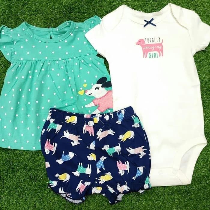 pakaian anak import JUMPER SET 2518