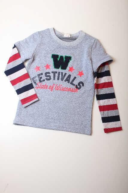 pakaian anak import KAUS 1845