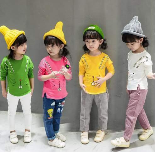 pakaian anak import KAUS 2198