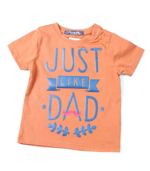 pakaian anak import KAUS BABY JUST LIKE DAD