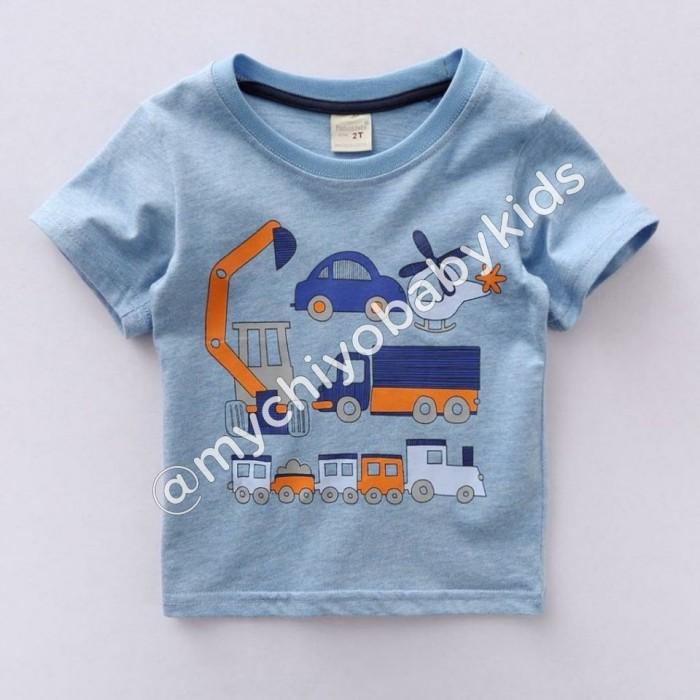 pakaian anak import KAUS CARS