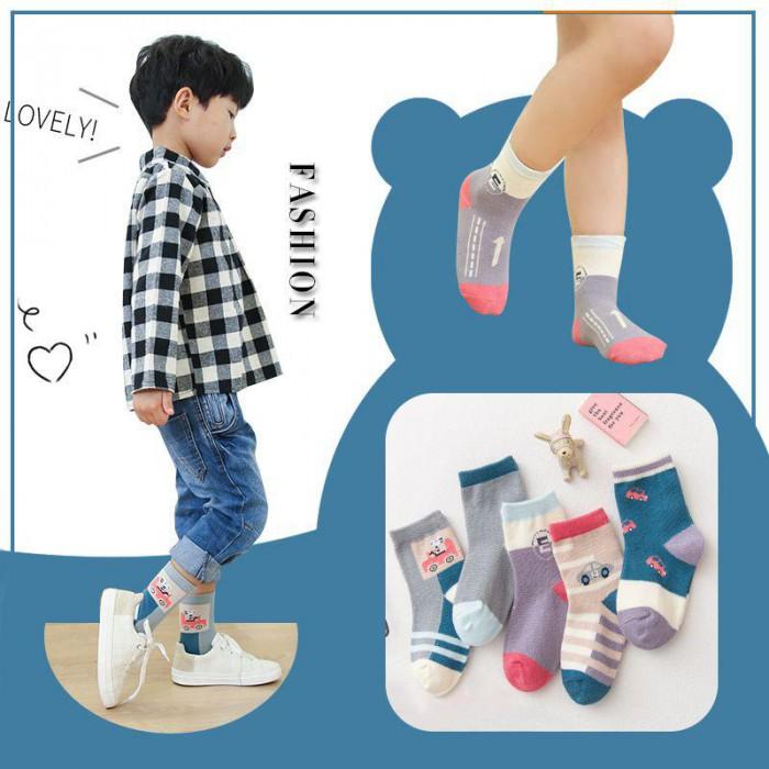 pakaian anak import KAUS KAKI BOY FASHION2 per pcs