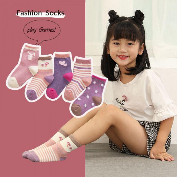 pakaian anak import KAUS KAKI GIRL FASHION2