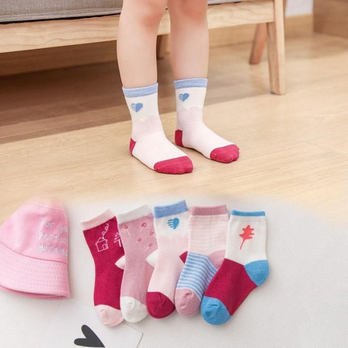 pakaian anak import KAUS KAKI GIRL FASHION3