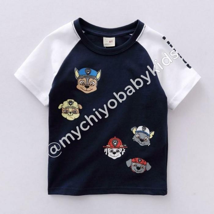 pakaian anak import KAUS PAW PATROL