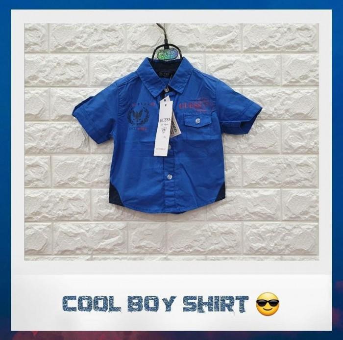 pakaian anak import KEMEJA BABY PENDEK 2405