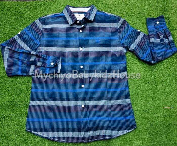 pakaian anak import KEMEJA PANJANG 2308 JUNIOR