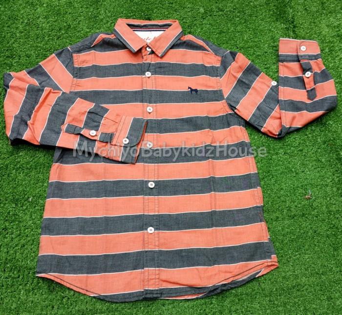 pakaian anak import KEMEJA PANJANG 2359 JUNIOR