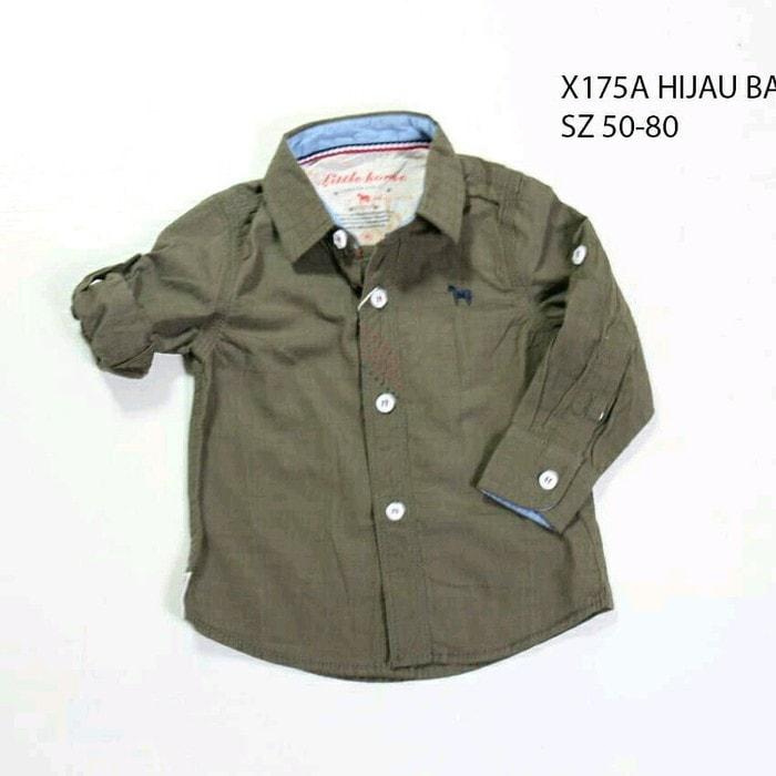 pakaian anak import KEMEJA PANJANG 2388 BABY
