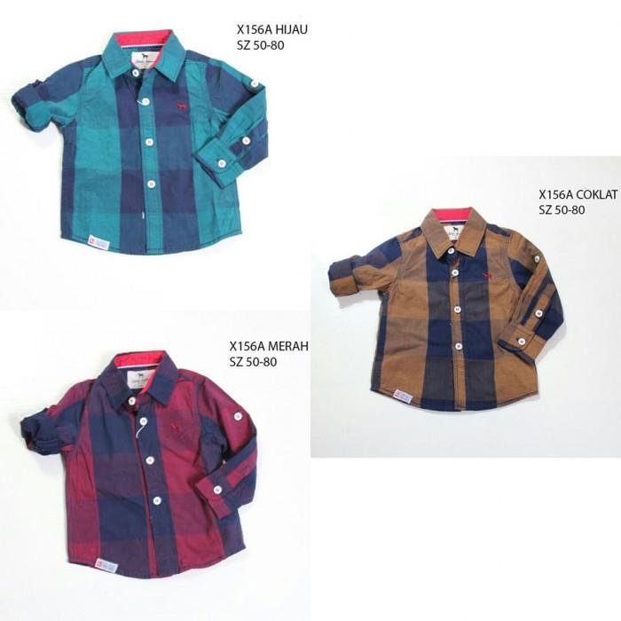 pakaian anak import KEMEJA PANJANG 2389 BABY