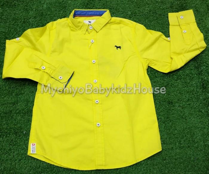 pakaian anak import KEMEJA PANJANG 2392 JUNIOR