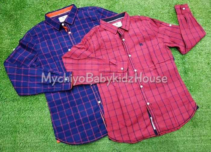 pakaian anak import KEMEJA PANJANG 2403 JUNIOR