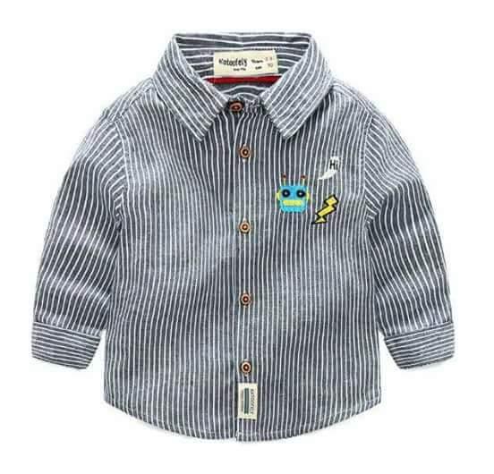 pakaian anak import KEMEJA PANJANG 2438