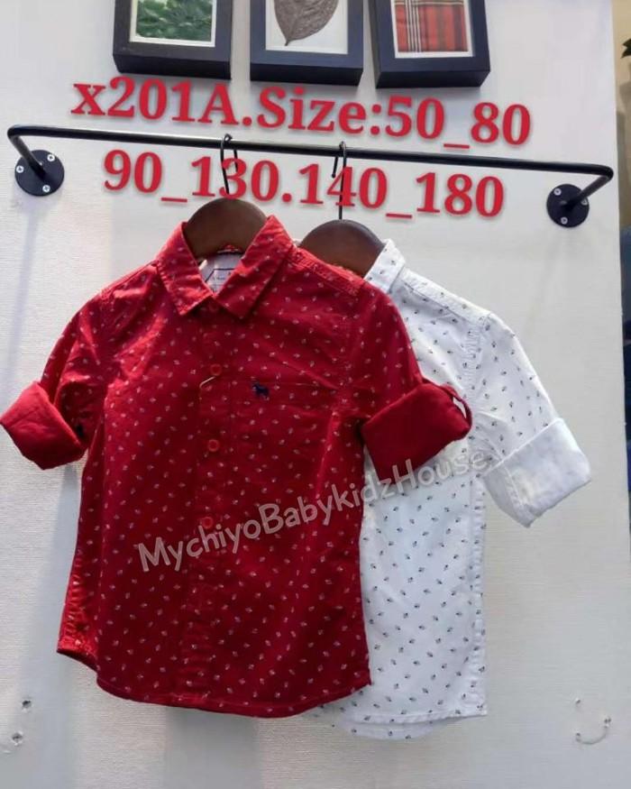 pakaian anak import KEMEJA PANJANG 2561 BABY