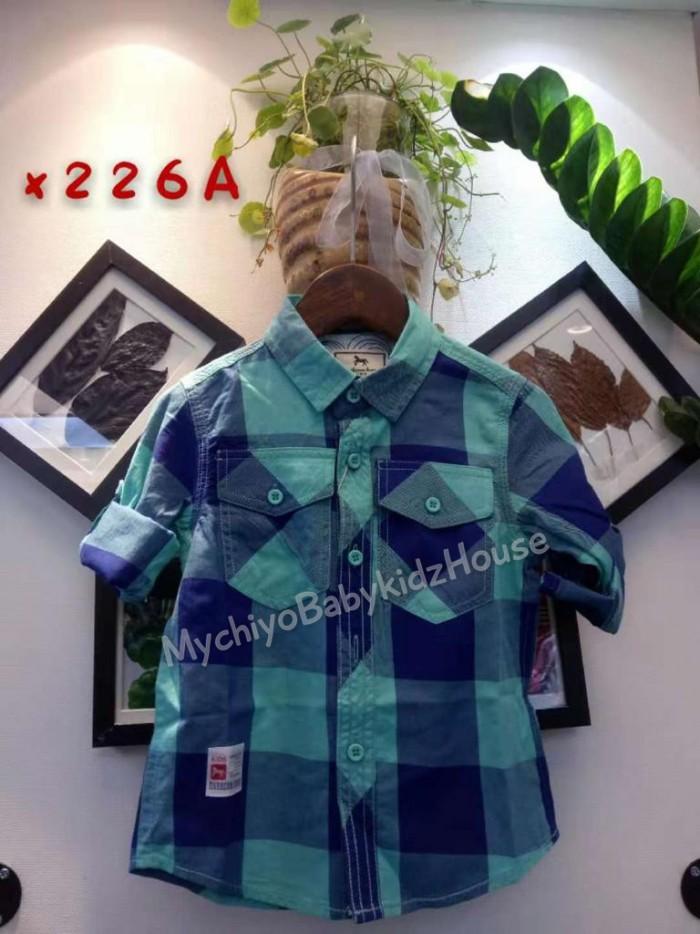 pakaian anak import KEMEJA PANJANG 2564 KIDS