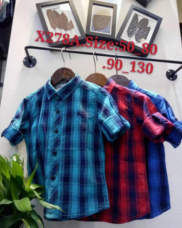 pakaian anak import KEMEJA PANJANG 2598 KIDS