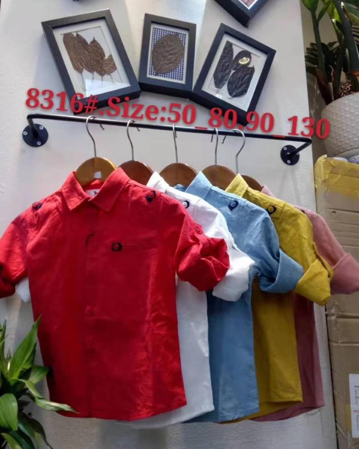 pakaian anak import KEMEJA PANJANG 2602 BABY