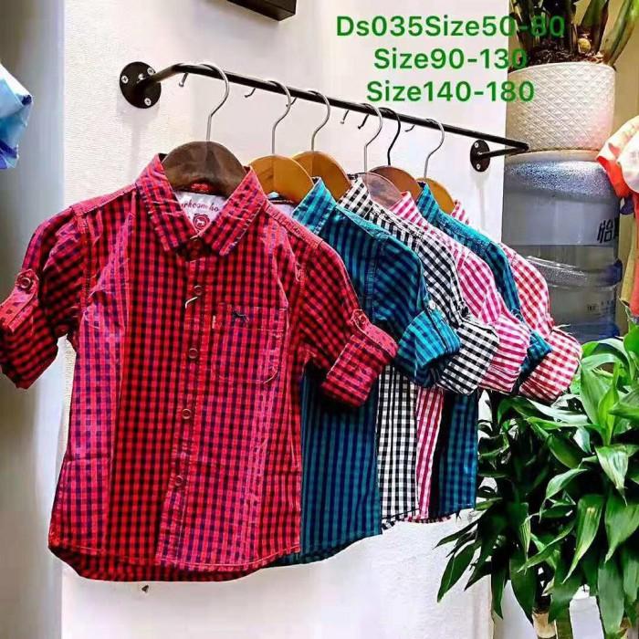 pakaian anak import KEMEJA PANJANG 2628 JUNIOR