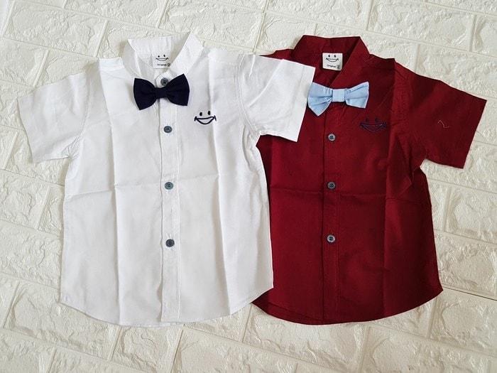 pakaian anak import KEMEJA PENDEK 2430