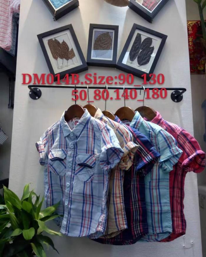 pakaian anak import KEMEJA PENDEK 2601 JUNIOR