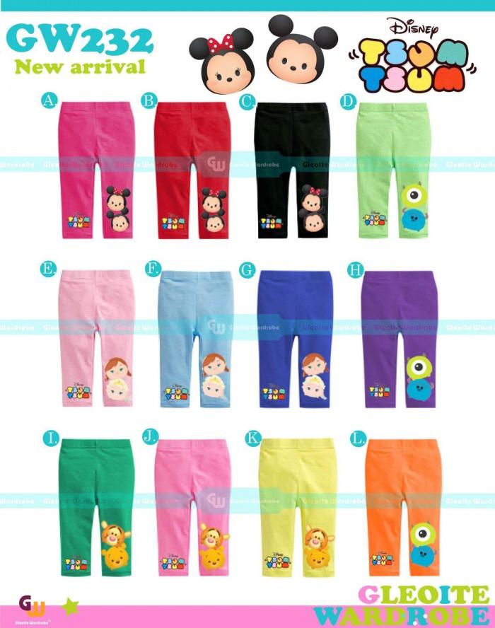 pakaian anak import LEGGING GW 232 KIDS