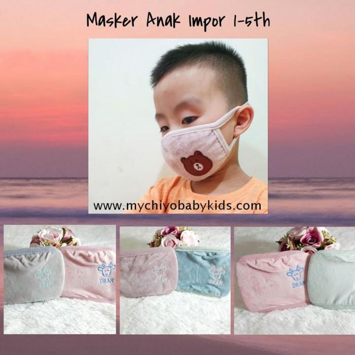 pakaian anak import MASKER ANAK IMPORT