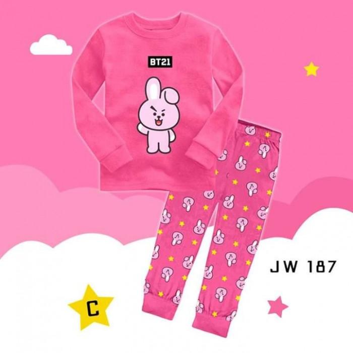 pakaian anak import PIYAMA JW187 C KIDS