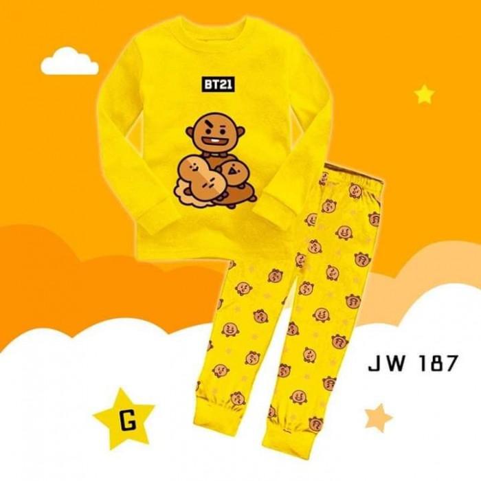 pakaian anak import PIYAMA JW187 G JUNIOR