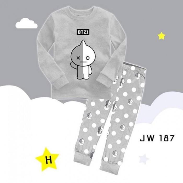 pakaian anak import PIYAMA JW187 H JUNIOR