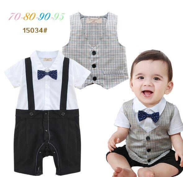 pakaian anak import ROMPER GENTLEMAN 1950