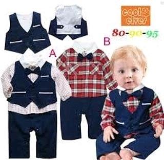 pakaian anak import ROMPER GENTLEMAN 1953